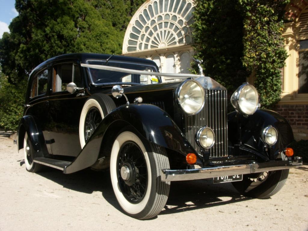 Rolls Royce 1932 Blk Silver Service Limos