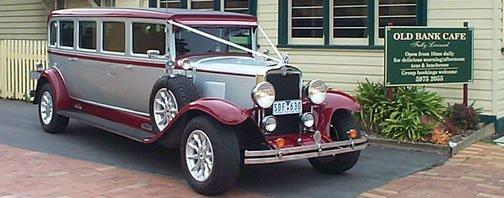 1930 Chevrolet 7 seater limousine | Silver Service Limos
