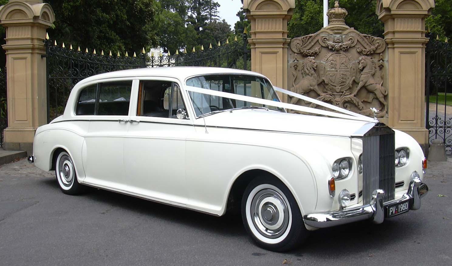 rolls royce phantom v 1960 | silver service limos