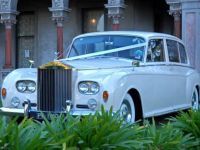 LWB Rolls Royce Silver Cloud II - .5 Passengers 3 in the back 2 in the front with Driver