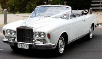 Silver Shadow Rolls Royce Convertible