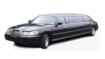 6 + 1 Passeneger Lincoln Limousine in Black