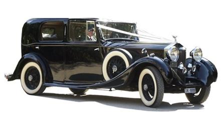 Rolls Royce Sedanca De Ville 1935 (blk)