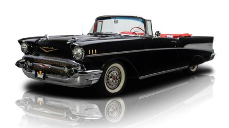 1957 Black Chev Belair
