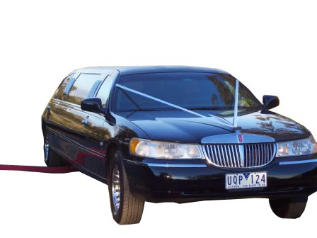 8 Pax Black Lincoln Towncar Limo