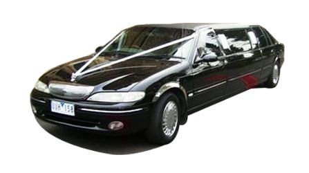 Black Ford Limousine